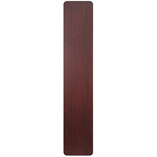 BOWERY HILL 18'' x 96'' Folding Table in Mahogany