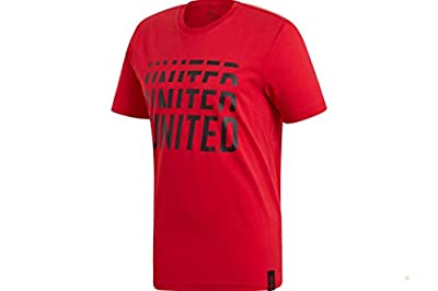 adidas Men's Manchester United DNA Graphic Tee