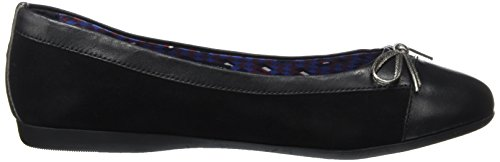 Tommy Hilfiger Ladies F1285ergie 1c Ballerinas Black (nero)