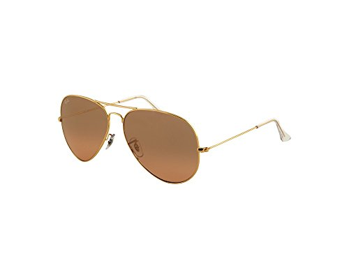 Ray-Ban Original Aviator Sunglasses (RB3025) Gold Shiny/Pink Metal - Non-Polarized - 58mm by Ray-Ban