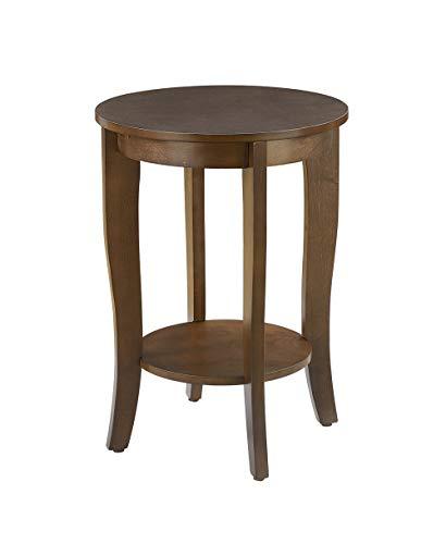 small accent table espresso - 4