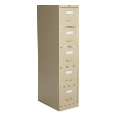 500 Series Five Drawer - 2500 Series 5-Drawer File Finish: Desert Putty