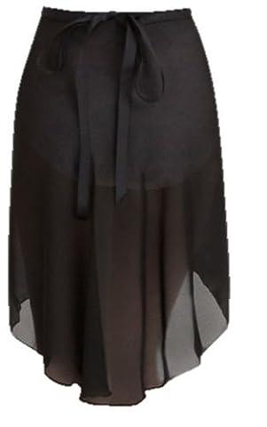 n276 capezio wrap skirt black petite/small by Capezio - Capezio Wrap Skirt
