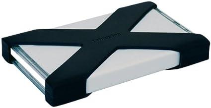 プリンストンテクノロジー 耐衝撃シリコンジャケット付属2.5インチ ポータブルハードディスク 500GB PHD-25UA/500