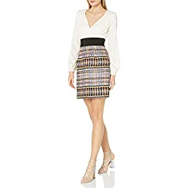 Milly Women's Nicola Deep-v Business Casual Dress