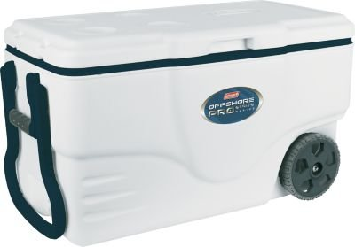 Coleman Wheeled Xtreme Marine Pro Coolers - Stainless (50...