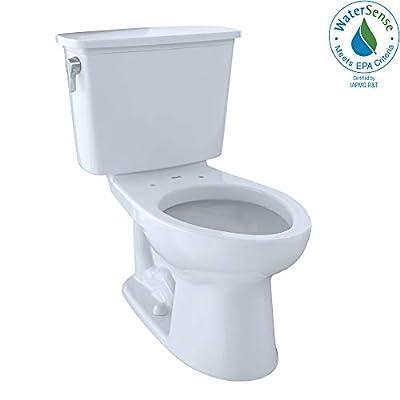 Toto CST744EGN#01 Eco-Drake Sanagloss Elongated Toilet, Cotton