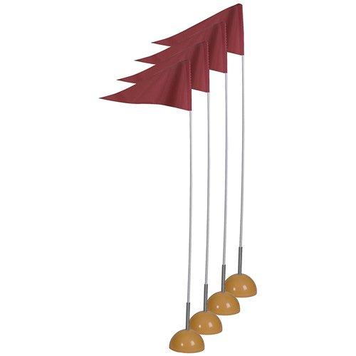 SSG/BSN juego de bandera de esquina con resorte