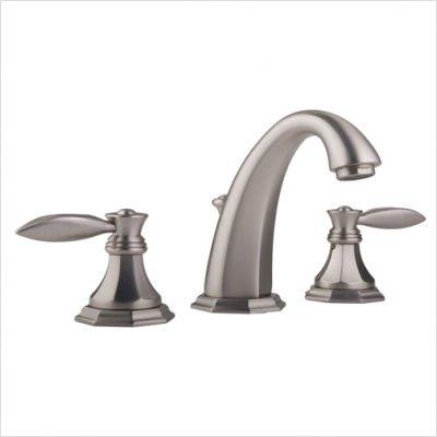 Graff Widespread Bath Faucet - Graff G-1900-LM14-___ Topaz Series Widespread Bath Faucet w/Metal Lever Handles