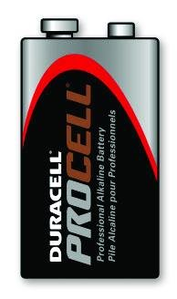 Duracell 9 Volt Alkaline/Case of 72 by Unknown