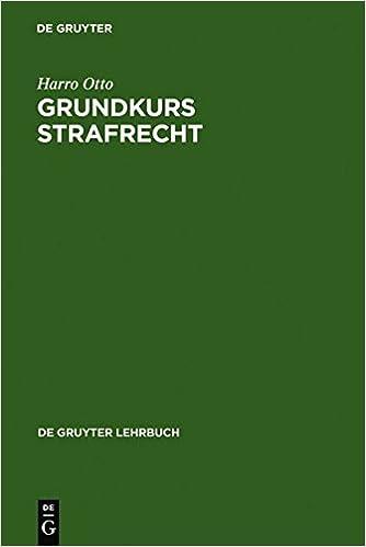 Grundkurs Strafrecht (de Gruyter Lehrbuch)