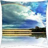 rainbow - Throw Pillow Cover Case (18