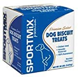 Sportmix Wholesomes Puppy Golden Grain Free Dog Treats, 20 Lb.