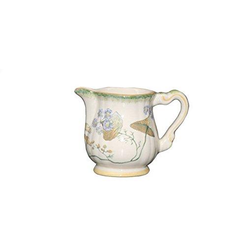 Faïencerie de Niderviller  Botanische Folien – rel6626, Cafeti&eGröße;re Renaissance  Crémier