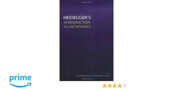Heidegger introduction to metaphysics online dating