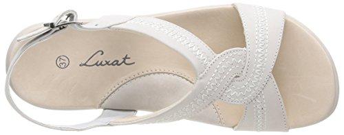 Blanc Luxat Sandals Space Blanc Women's Cassé rpIxp6qz
