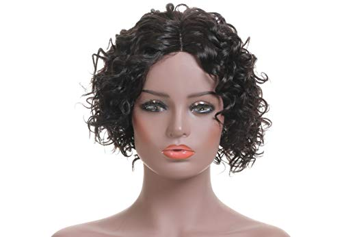 Lace Front Wigs L Part Peruvian Remy Human