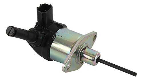 DB Electrical FSS0012 Fuel Solenoid Gray