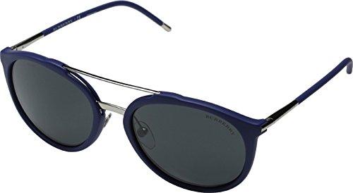Burberry Men's 0BE4177 Matte Blue/Grey Sunglasses