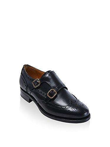 de mujer Passport Piel cordones de British Zapatos para OZgE0q
