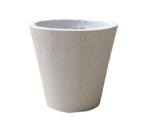 グリーンポット フォリオ ソリッド ホワイト 43×40cm EB-SL227043W B01INCL8GQ  ホワイト 43cm
