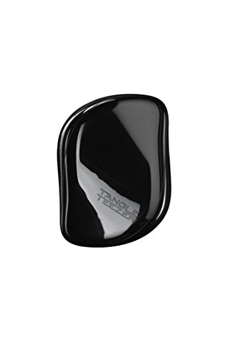 Price comparison product image Tangle Teezer The Compact Styler, On-the-go Detangling Hairbrush for All Hair Types - Rock Star Black