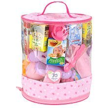 You & Me 70-Piece Doll Care Accessories - Accessory Cylinder