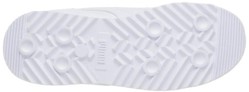 PUMA Roma Basic Kids Sneaker (Toddler/Little Kid/Big Kid), White/Light Gray, 2.5 M US Little Kid by PUMA (Image #3)