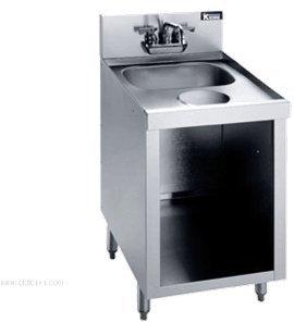 Krowne Metal KR21-S18C Royal 2100 Series Underbar Hand Sink - Series Royal Hand Sinks