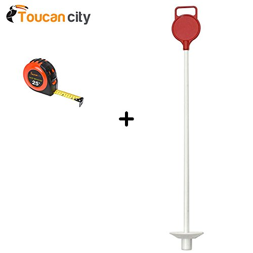 Toucan City StarPro Greens Red Ball Pull Golf Markers (2-Pack) BPMR1 Tape Measure - Replacement