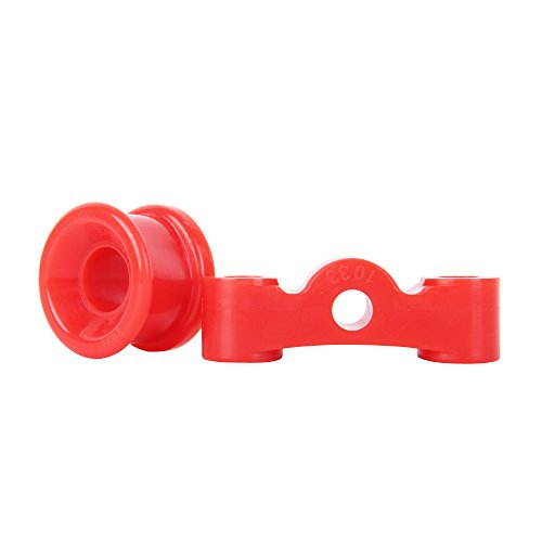 Red SHIFT LINKAGE BUSHINGS URETHANE 86-01 Acura INTEGRA (Shift Honda Linkage)