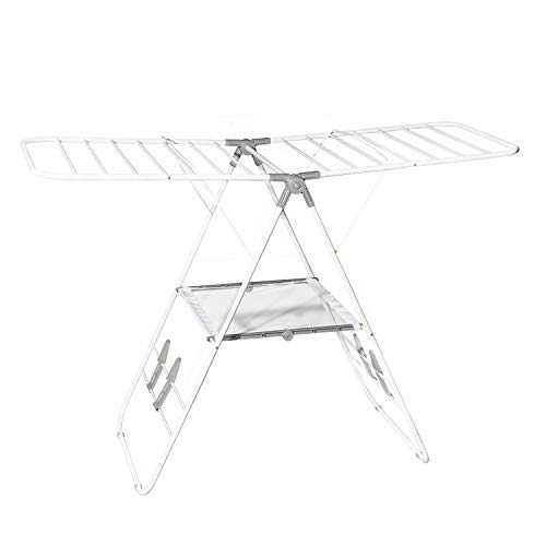 Hamilton Beach 83120 Foldable Clothes, Indoor A- A-Frame Drying Rack, White (Hamilton Beach Drying Rack)
