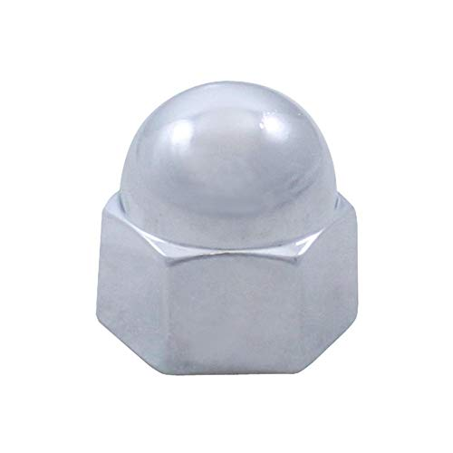 Acorn Chrome Die Cast Nut Cover, 11/16