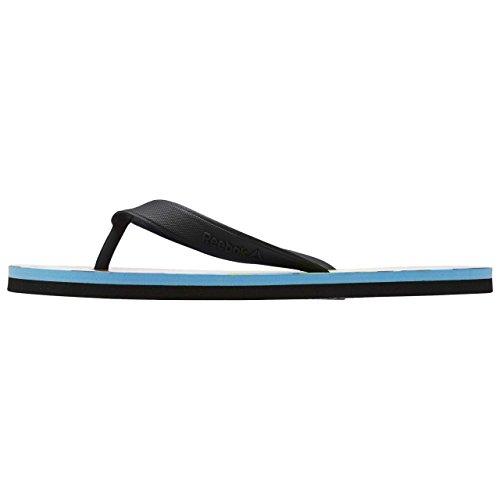 Reebok Damen Bd5213 Flip-Flops Schwarz (Black/white/ E Bean/pink Craze/kiwi Gr)