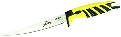Buck Knives 0233 Mr. Crappie 6-Inch Slab Shaver Fishing Bait Knife with Sheath