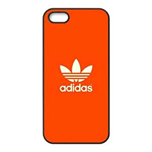 The logo of Adidas for Apple iPhone 5/5S Black Case Hardcore-5