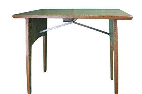 Assembled Fully Oak (Fireside Finished Oak Folding Table Handcrafted By the Amish This Folding Oak Table Is a Must Have for Any Sewing Room. This Folding Table Measures 26 1/2