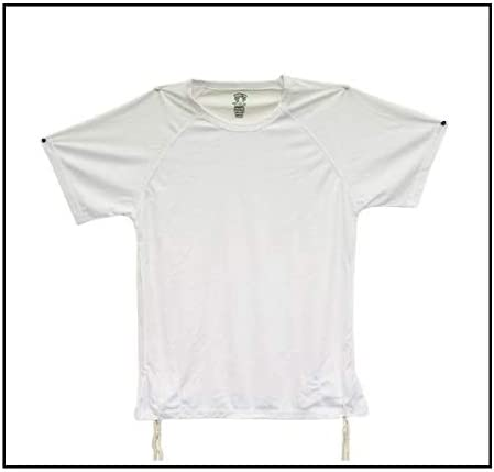 Dri-Fit Tzitzit - Camiseta Tallit katan blanca transpirable, judía ...