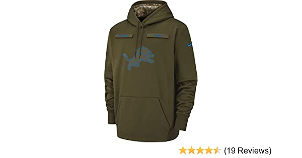 2c9ec857f Amazon.com  2018 Salute to Service Pullover Hoodie Sweatshirt On-Field  Unisex (Small