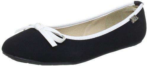 XTI Kids Ballerina XTI51730 SP13 - Bailarinas para niña Negro (Schwarz (negro X3))