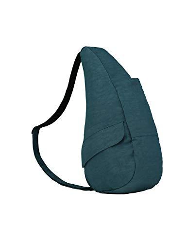 AmeriBag Classic Healthy Back Bag Tote Distressed Nylon Small (Lagoon)