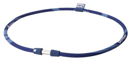 - Phiten Titanium Necklace X30 PGA Tour, Navy, 18 Inch