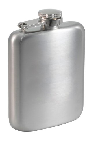 Stainless Steel Satin Hip Flask - Visol