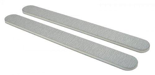 Standard Zebra 180/180 (Wht Ctr) Nail File 50 ()