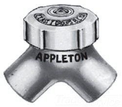 Capped Elbow - Appleton ELBY100 90Deg 1