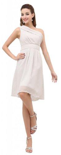 Orifashion para vestido de noche mujer corto Wei? blanco
