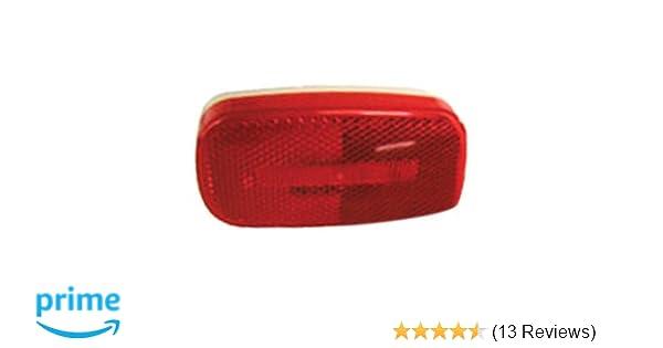 Anderson Trailer V170A Piranha LED Clearance//Sidemarker W//Reflex Amber Stud