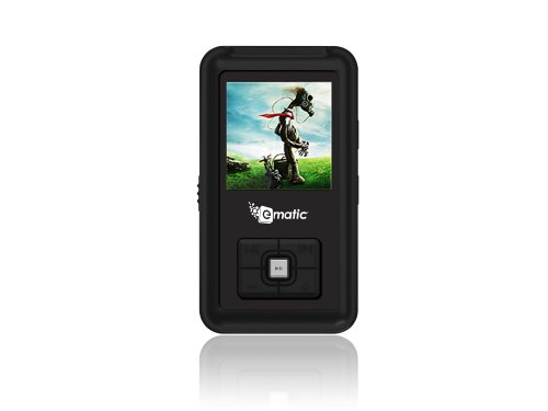 Ematic 2GB Color MP3 Video Player with 1.5-Inch Screen, FM Radio and Voice Recording (Piano Black)