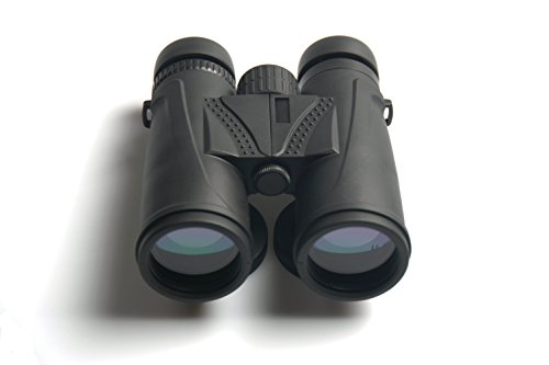 GuangYing High Powered Binoculars for Bird Watching. Bright and Clear Views for Boating, Traveling, Sports, Hunting, Beach, Hiking and Exploring. Waterproof. Binoculars(10x42) Image