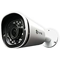 NA Stream IP Security Camera Sony STARVIS Sensor UltraHD 5MP True-WDR PoE Bullet 3X Optical Motorized Zoom Indoor Outdoor Night Vision Motion Detection Built-in Microphone IP67 ONVIF P2P